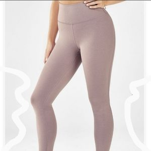 New Fabletics Pink High Waist Booty Boost Leggings